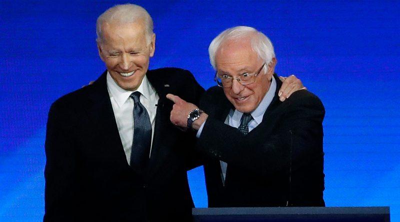 Bernie Sanders endorses Joe Biden in 2020 United States presidential election